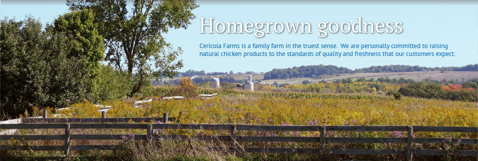 Cericola Farms - Homegrown goodness